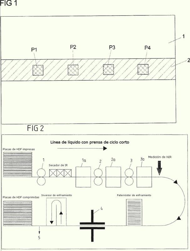 Procedimiento para la determinación de la resistencia a la abrasión de al menos una capa de desgaste dispuesta sobre una placa de soporte.