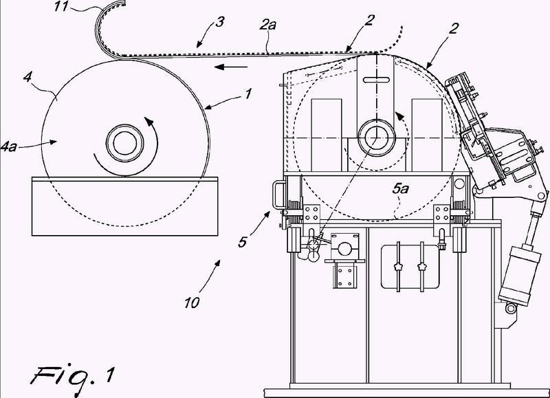 Procedimiento y aparato para fabricar papel con marca de agua.