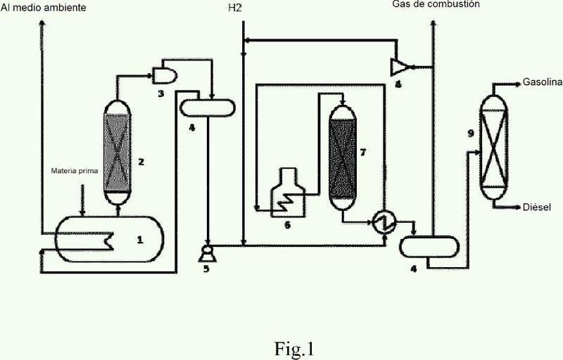 Método para preparar combustible usando aceites y grasas biológicas.
