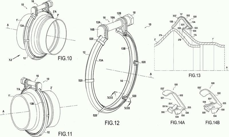 Sistema de apriete que comprende una abrazadera y unos clips individuales de premontaje.