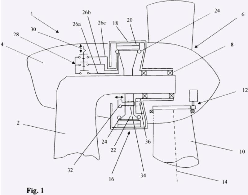 Procedimiento para detener una turbina eólica y turbina eólica para la realización del procedimiento.