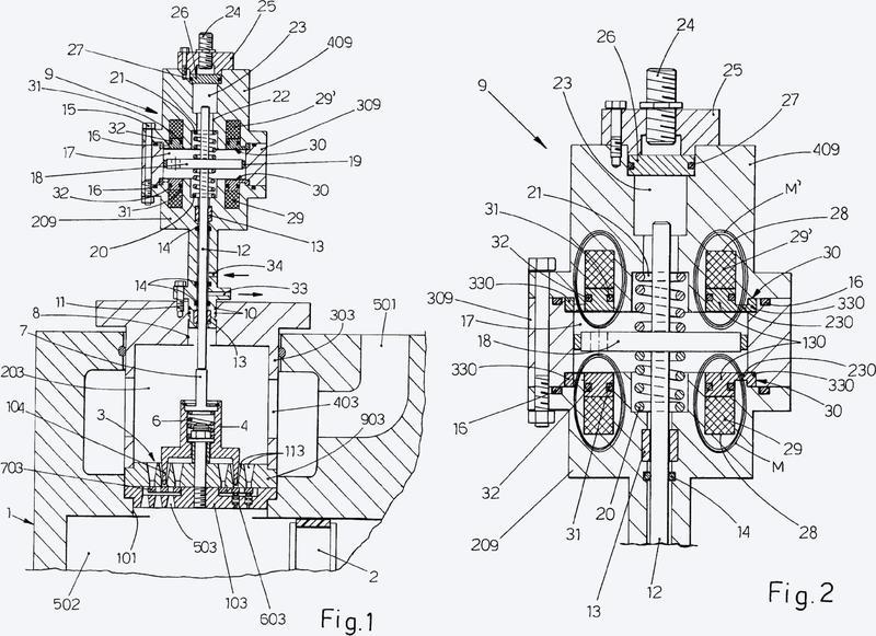 Accionador de regulación de flujo para compresores alternativos.