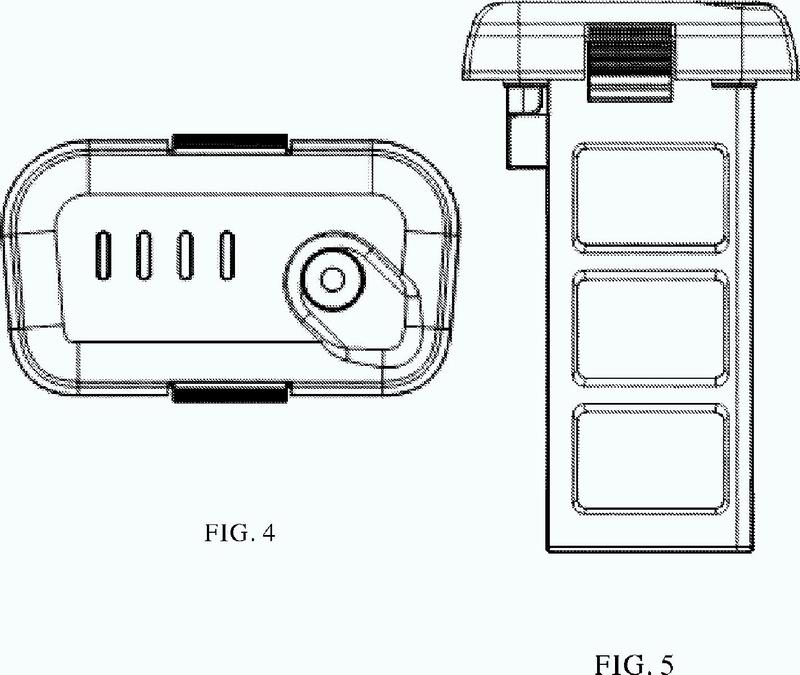 Batería y vehículo aéreo no tripulado con la batería.