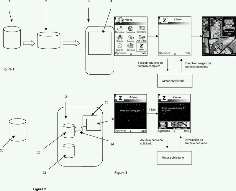 Método para permitir que un usuario interactúe con contenido recibido desde un servidor remoto.