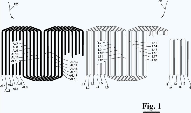 Método y aparato para formar conjuntos de bobinas de un tipo conocido.