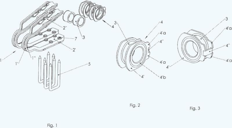 Grapas para dispositivos de empalme de los extremos de una cinta transportadora.