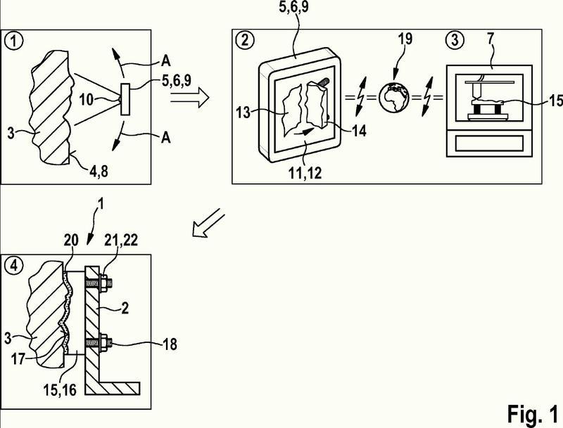 Sistema y método para la producción de una disposición de fijación mediante la técnica de fabricación aditiva.