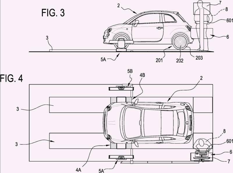 Método y aparato para verificar neumáticos de ruedas de vehículos.