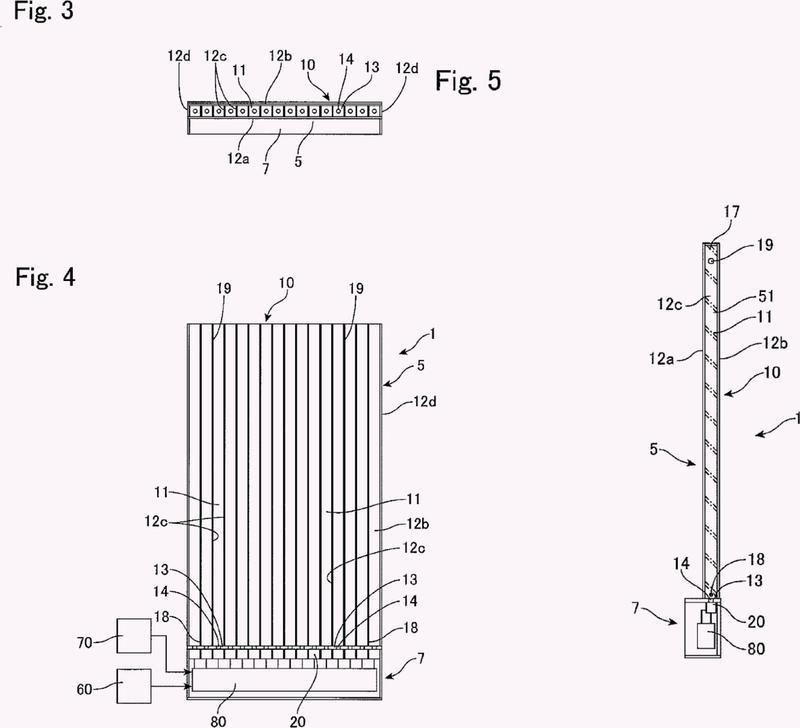 Unidad emisora de luz y dispositivo con una pluralidad de unidades emisoras de luz.