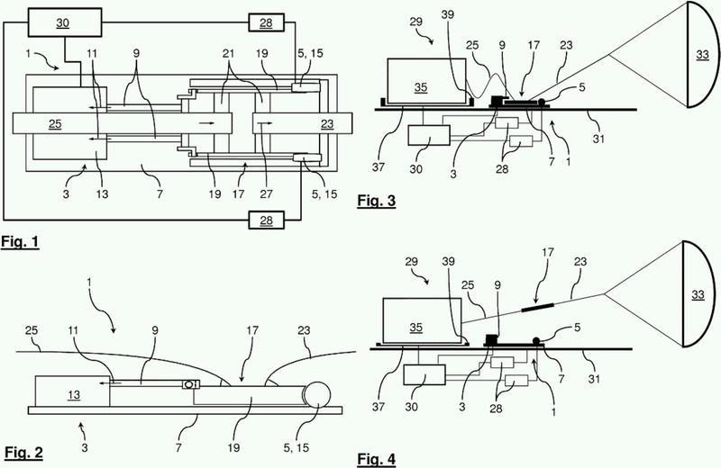 Placa de transferencia de fuerzas y sistema de extracción de carga.