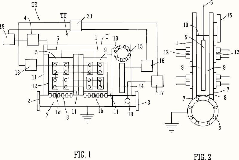 Sistema y método para tratar fluidos mediante sonoelectroquímica.