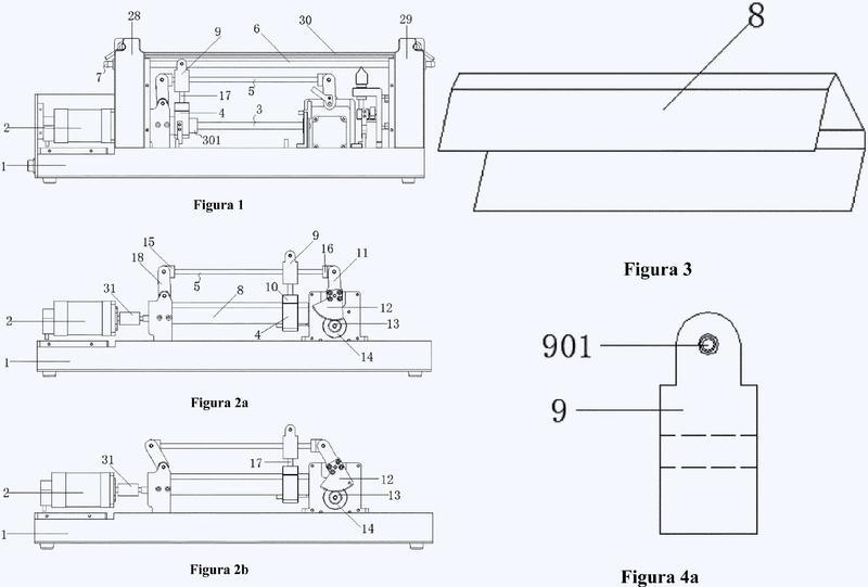 Bomba peristáltica lineal utilizada para medir y transportar fluidos con precisión.