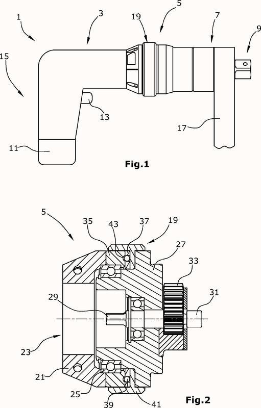 Destornillador motorizado, así como procedimiento para llevar a cabo una operación de atornillado usando un destornillador motorizado.