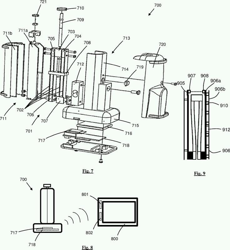 Mecanismo de medición de fuerza.