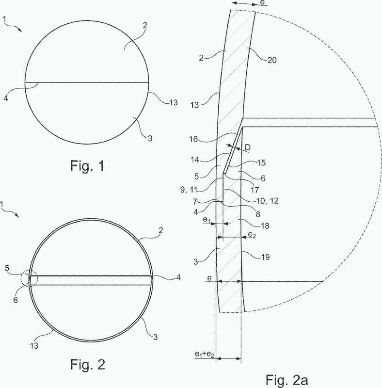 Pelota de tenis de mesa y procedimiento de fabricación.