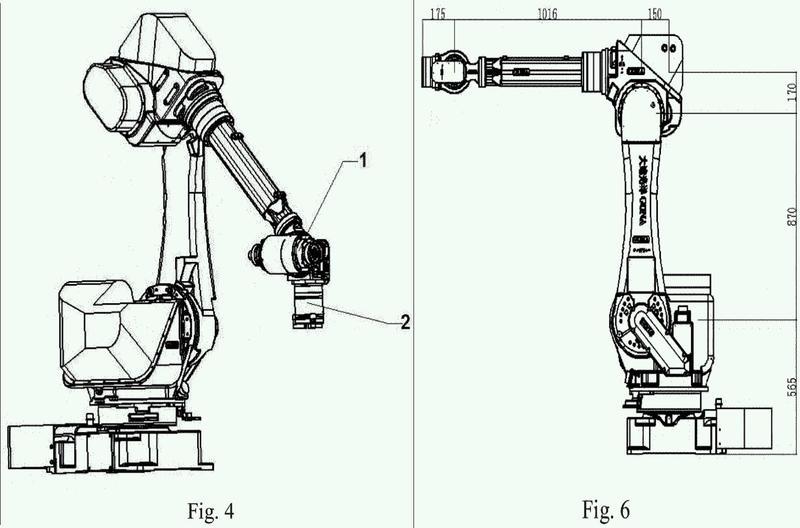Procedimiento de control de mezcla de 5 ejes y 6 ejes para robots industriales y sistema de los mismos.