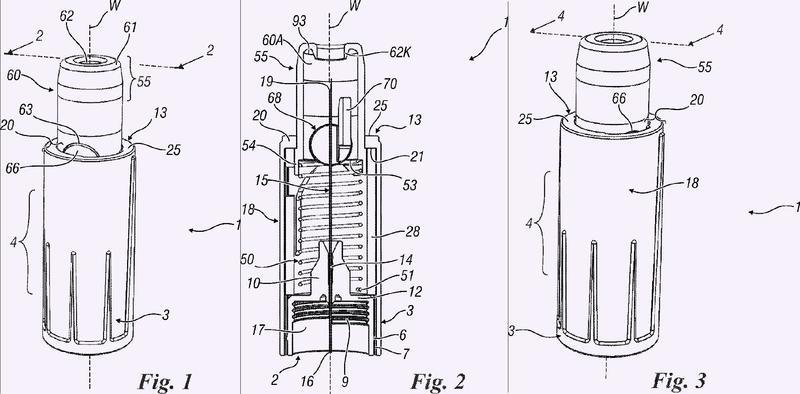 Aguja de seguridad con cánula deformable para pluma de inyección.