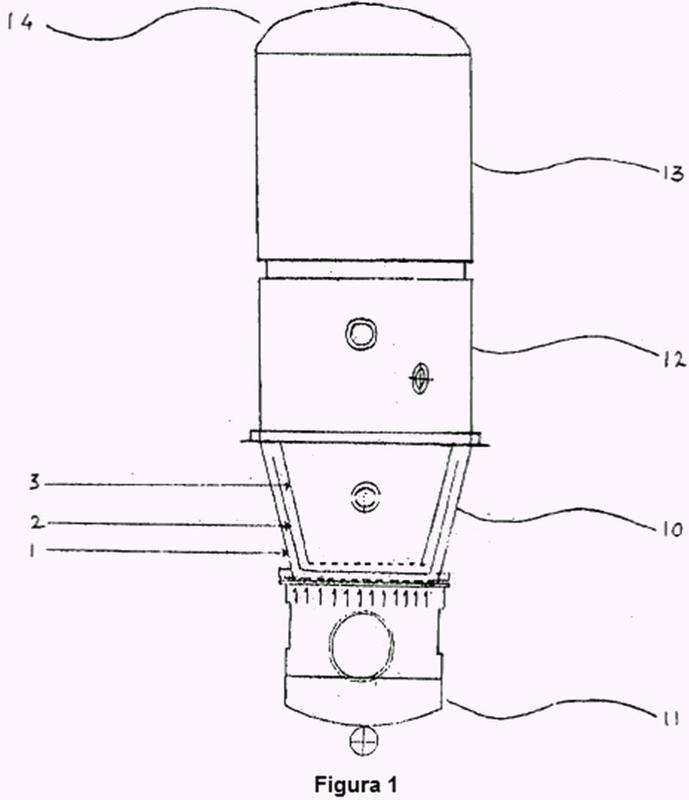 Procedimiento de concentración controlada y recuperación de sólidos.
