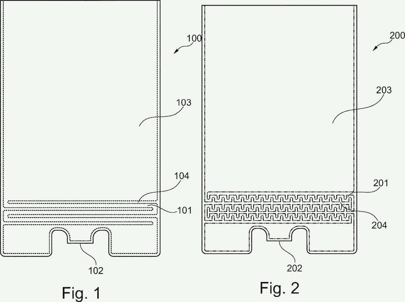 Disposición para el suministro automático de agua para plantas de interior.