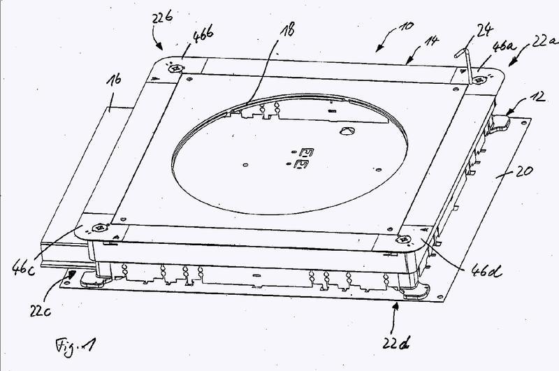 Caja subterránea de enchufe de aparatos para instalaciones eléctricas.