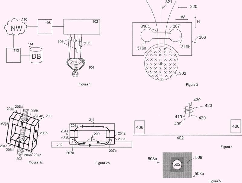 Aparato y disposición para la monitorización de una condición de un objeto ferroso alargado que tiene un eje longitudinal.