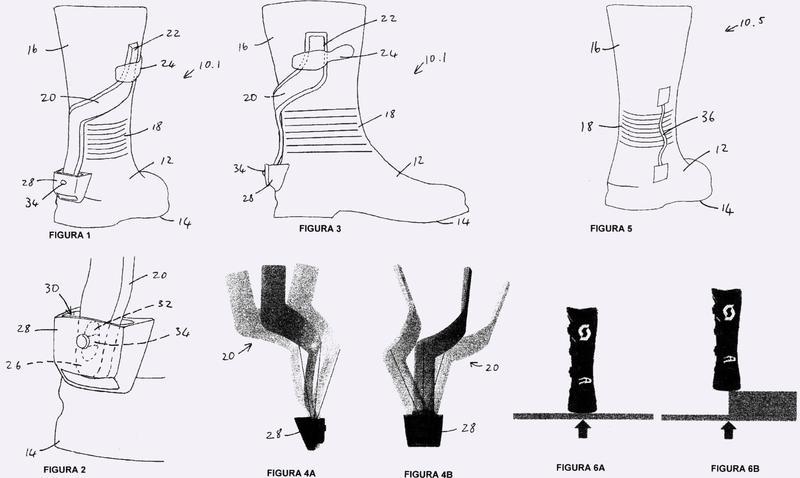 Artículo de calzado con protección de tobillo bloqueable.