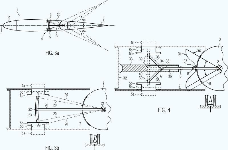 Estabilizador vertical para un avión.