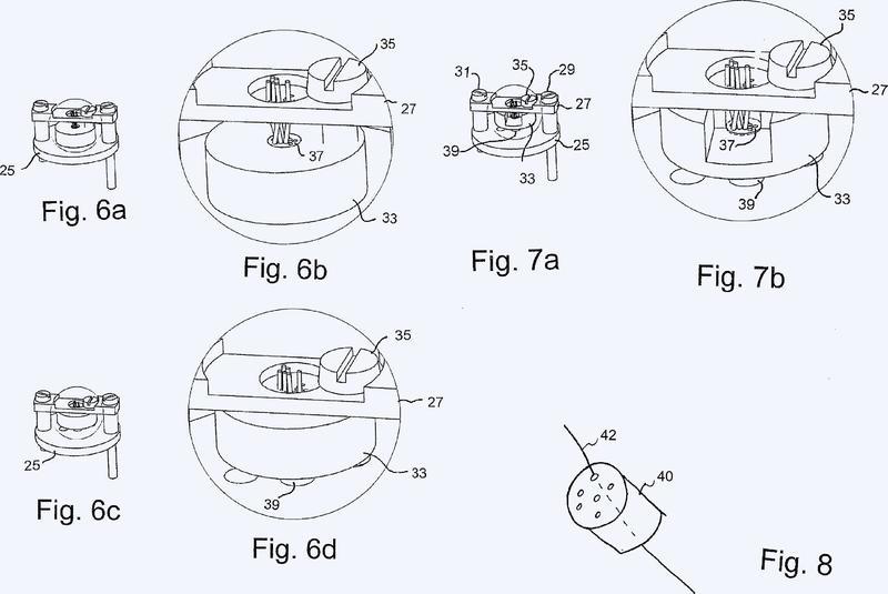 Un procedimiento de fabricación de un dispositivo de regeneración de nervios.