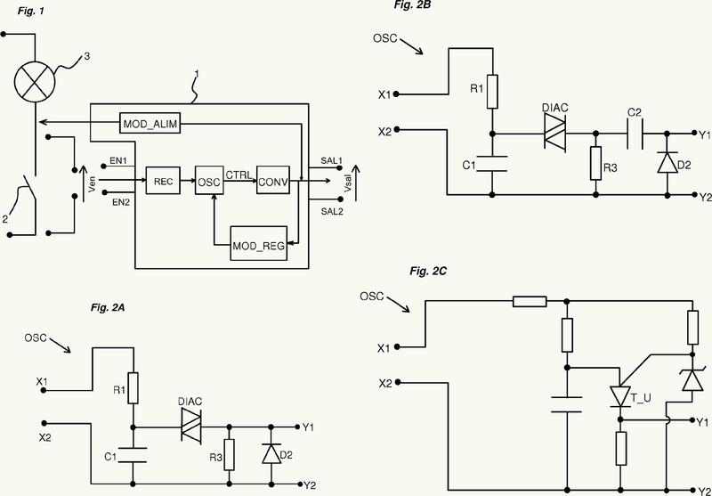 Dispositivo de alimentación eléctrica.