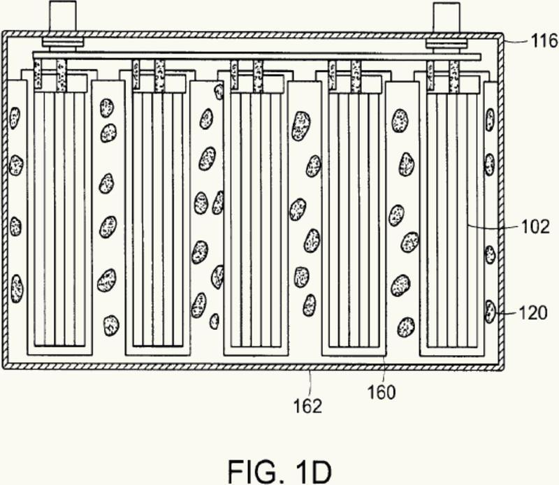 Batería de iones de litio.