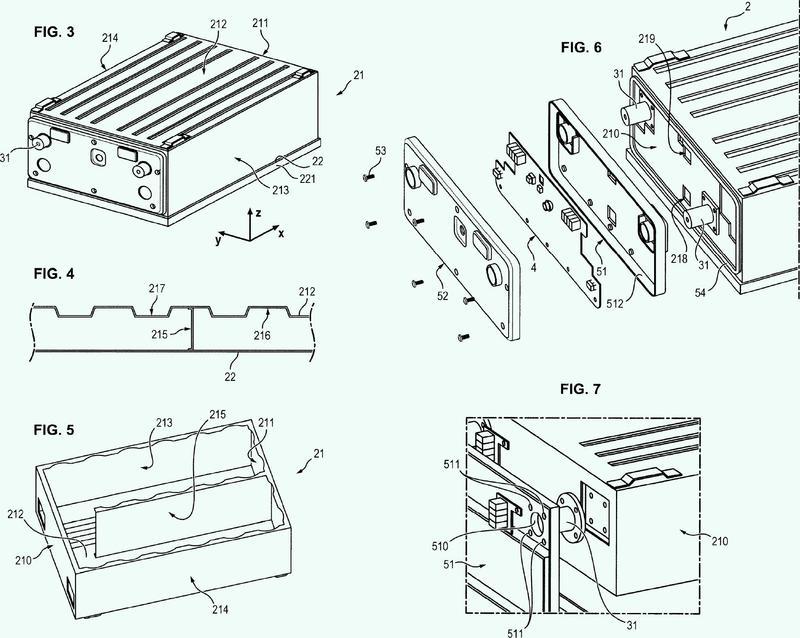 Procedimiento de fabricación de un módulo de almacenamiento de energía eléctrica.