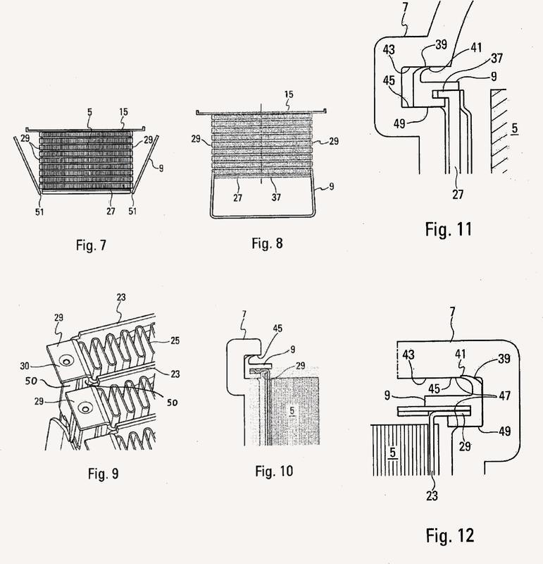 Intercambiador de calor para vehículo automóvil.