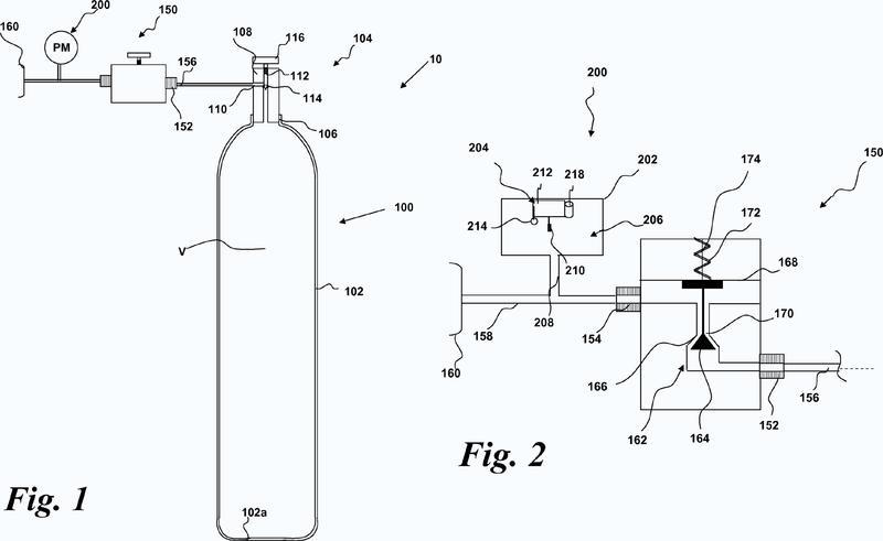 Método y aparato de medición del peso molecular de un gas.