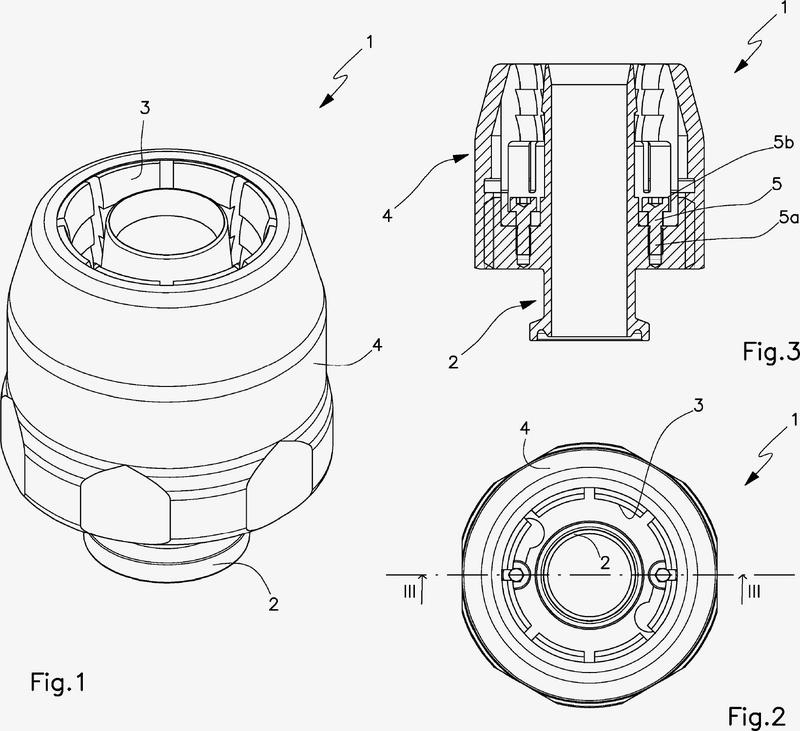 Dispositivo conector de estanqueidad reutilizable para un tubo flexible.