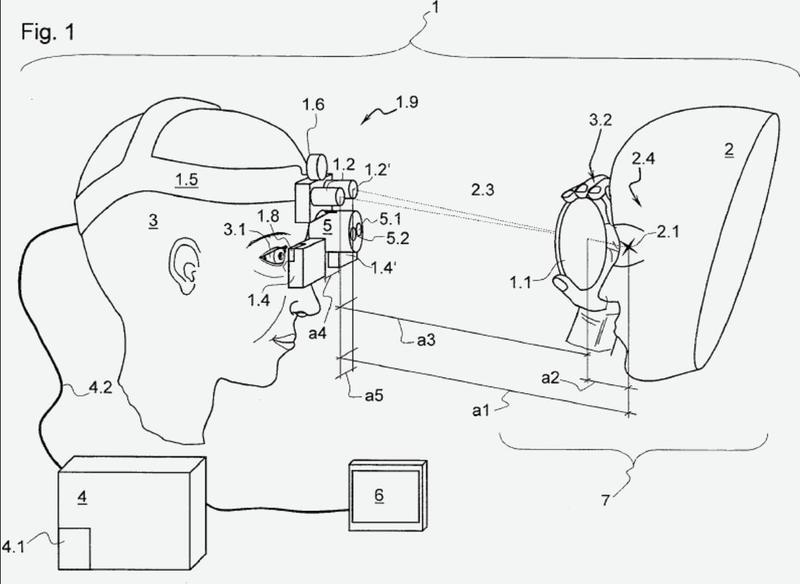 Simulador de oftalmoscopio.