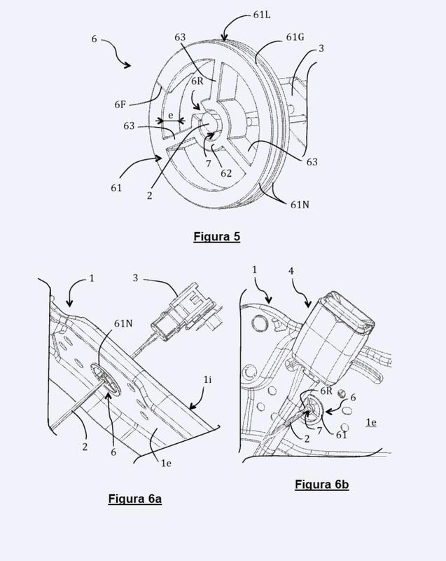 Procedimiento y anillo de montaje de un cable de detección de no-abrochado de un cinturón de seguridad.