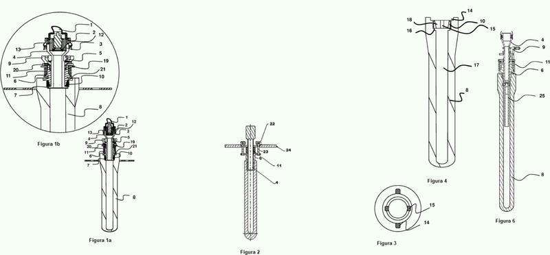 Pirómetro óptico.