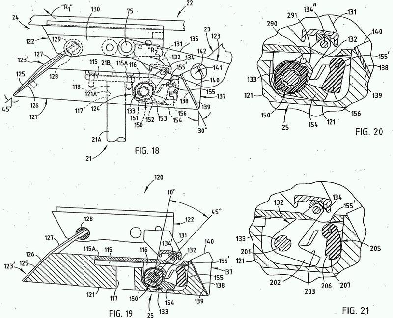 Función de tensión y parada de respaldo combinada para una unidad de asiento.