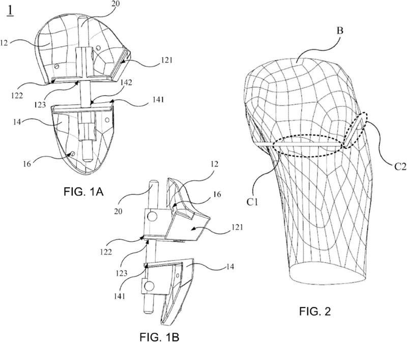 Dispositivo quirúrgico para osteotomía.