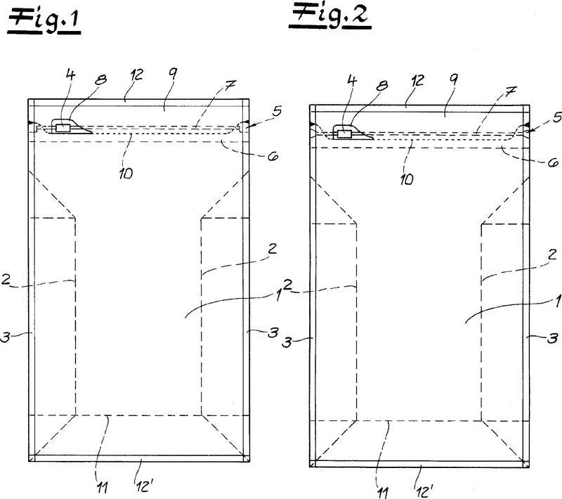 Procedimiento para la fabricación de una bolsa de envasado de película.