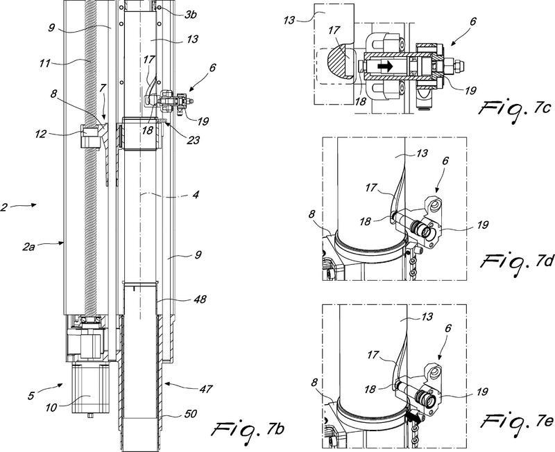 Volteador para artículos tubulares de punto, en particular para volver del revés artículos tubulares con bolsillos que sobresalen de la superficie lateral de los mismos.