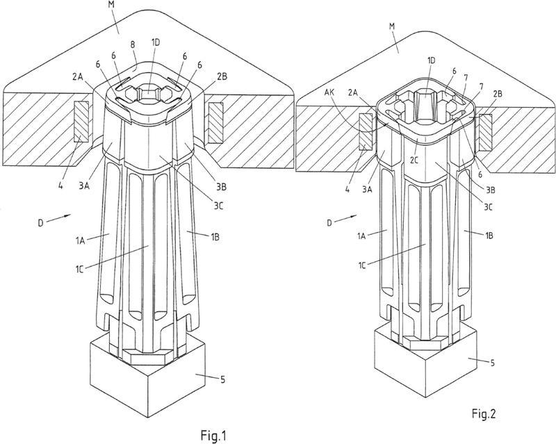 Dispositivo y procedimiento para el sellado hermético a líquidos de dos partes de envase, que se solapan parcialmente.