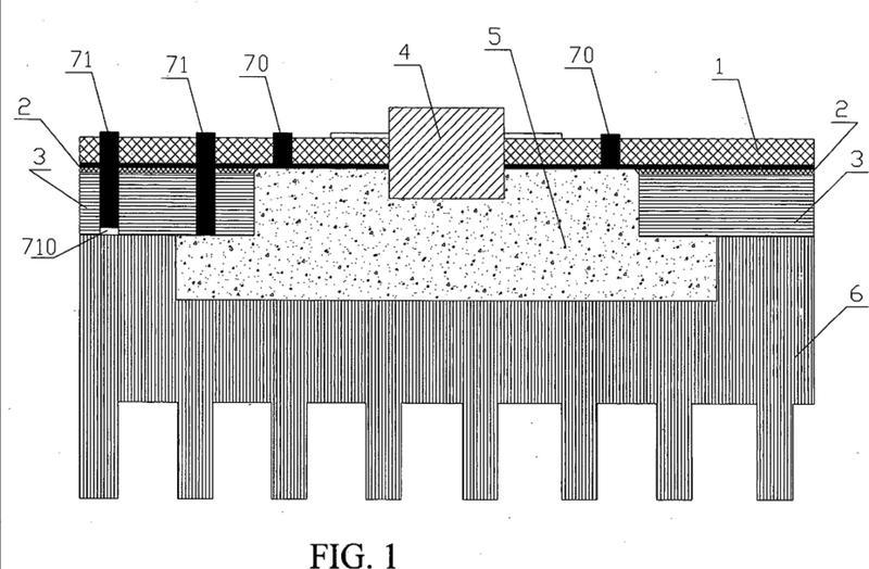 Placa de circuito impreso, su método de fabricación y aparato de radiofrecuencia.