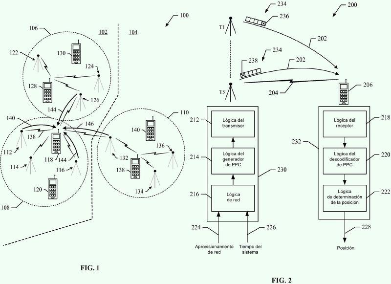 Procedimiento y aparato para determinar la localización de un dispositivo móvil en una red inalámbrica.
