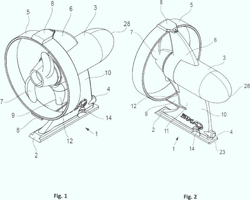 Accionamiento electromecánico para un dispositivo flotable.
