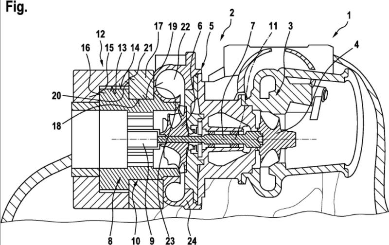 Sobrealimentador, particularmente un turbocompresor de gas de escape, para un dispositivo de accionamiento así como un correspondiente dispositivo de accionamiento.