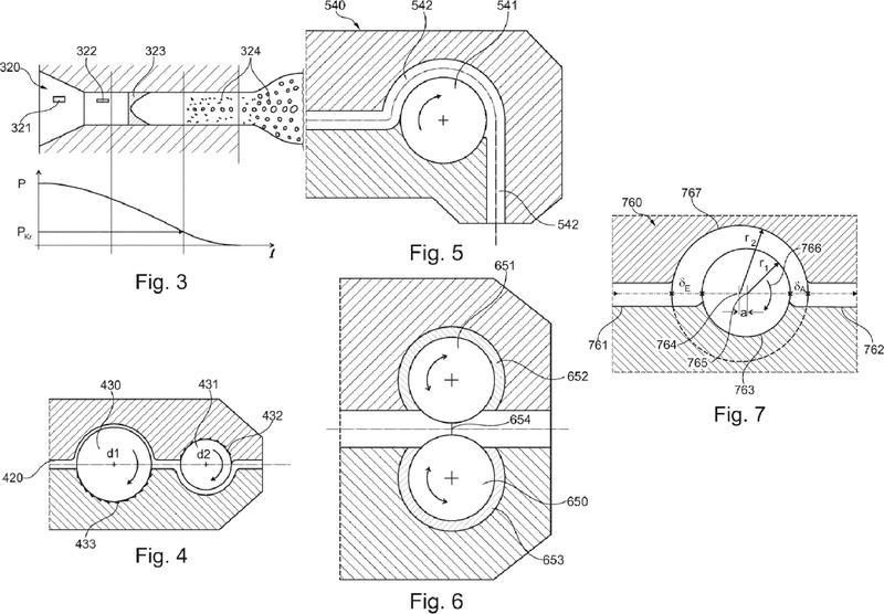 Dispositivo y procedimiento para el control de un proceso de extrusión.
