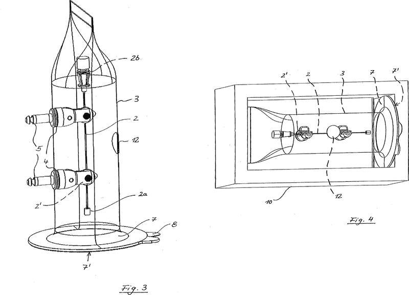 Dispositivo para el posicionamiento de instrumentos estériles.