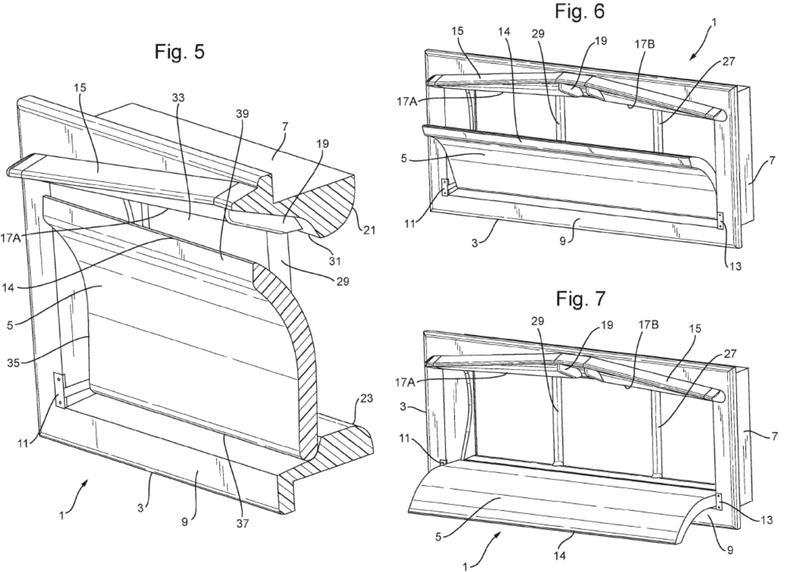 Válvula de ventilación para ventilación de un espacio para animales o plantas.