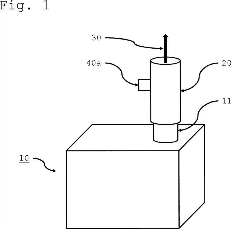 Máquina de mecanizado con dispositivo de medición así como procedimiento.